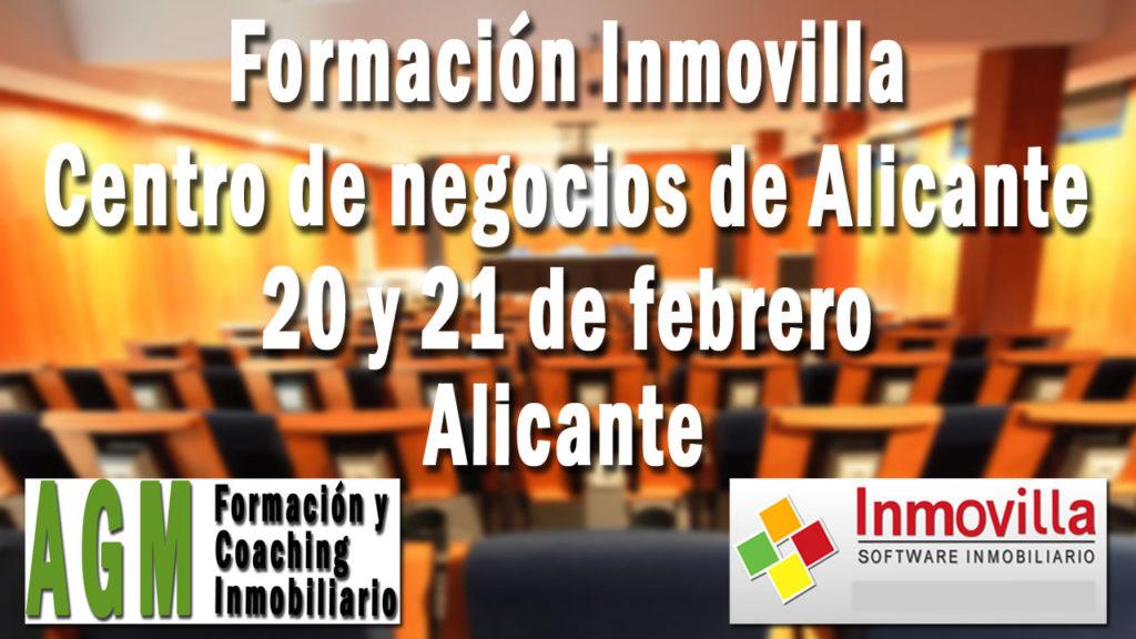 Formación Inmovilla Alicante 20 y 21 de febrero