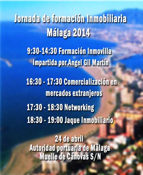 Formación Inmovilla: 24 abril 2014 Málaga