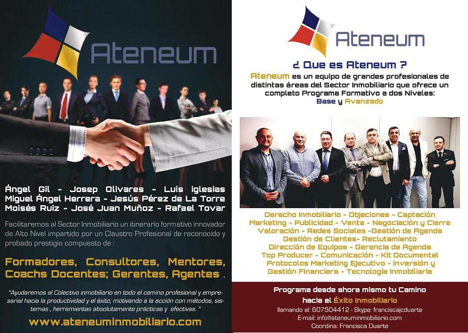 Ateneum, el proyecto formativo inmobiliario 360, se presenta en el BMP